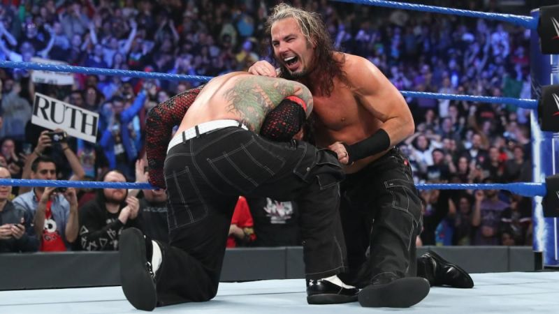 The Hardy Boyz are the new champions but were attacked by Lars Sullivan post-match.