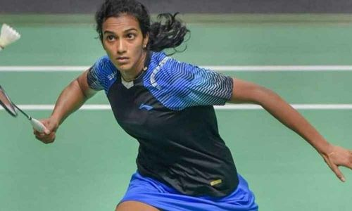 PV Sindhu is the only Indian left in the Singapore Open 2019