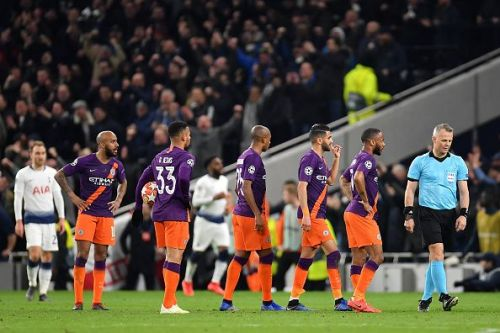 Despite their excellent playing style, tactics, squad depth, Manchester City still couldn't hold their nerves on a European night.