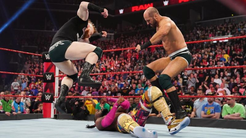 The Bar attacked Kofi Kingston during what was supposed to be a stellar main event