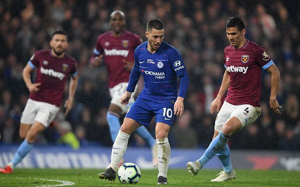 Eden Hazard single-handedly destroyed West Ham United
