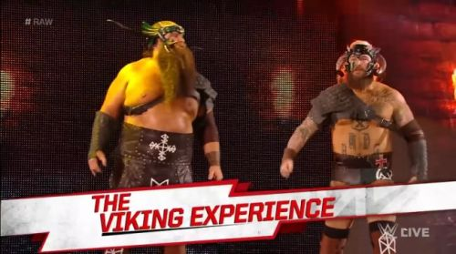 Viking Experience did not go down well with the WWE Universe