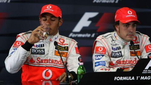 The team-mate rivalry in 2007 drove a wedge in McLaren