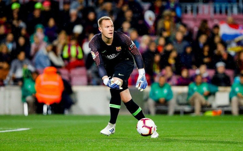ter Stegen quietly made his presence felt again as Barca's no.1 made important saves when called upon