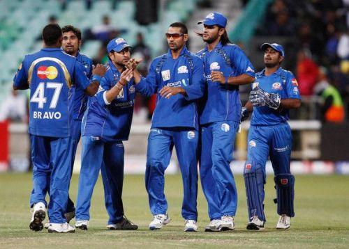 Mumbai Indians - 2010 ( Image Courtesy: IPLT20.com/BCCI )
