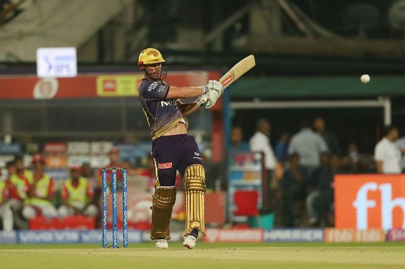 Chris Lynn plays a shot (Image Courtesy: BCCI/IPLT20.com)