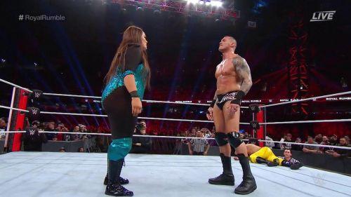 Triple H reportedly nixed Nia Jax's feud with Randy Orton