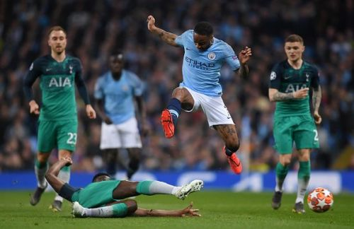 Manchester City will be looking to exact revenge against Tottenham today after their dramatic UCL tie