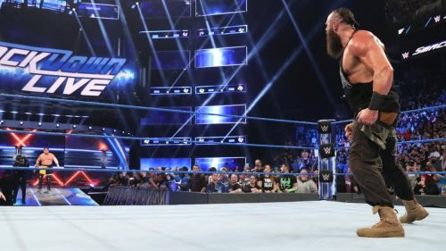 Strowman and Joe on SmackDown Live