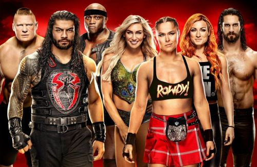 WrestleMania 35 poster.