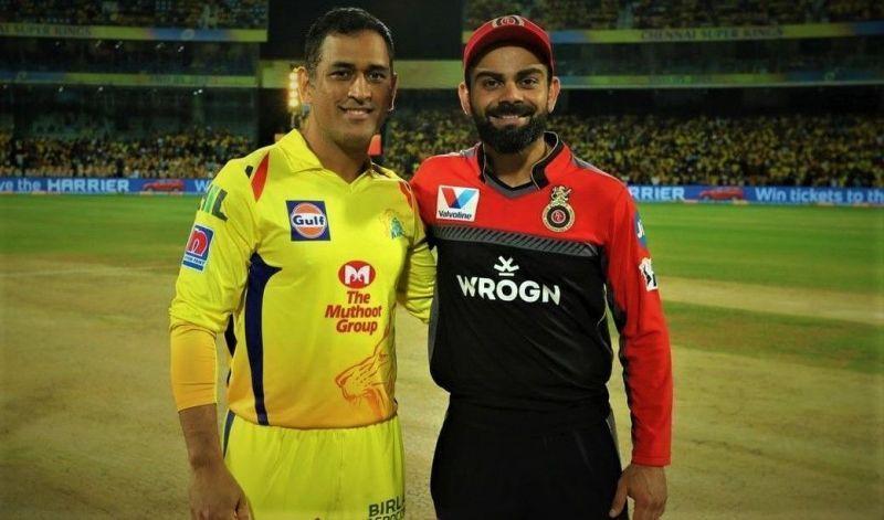 MS Dhoni and Virat Kohli