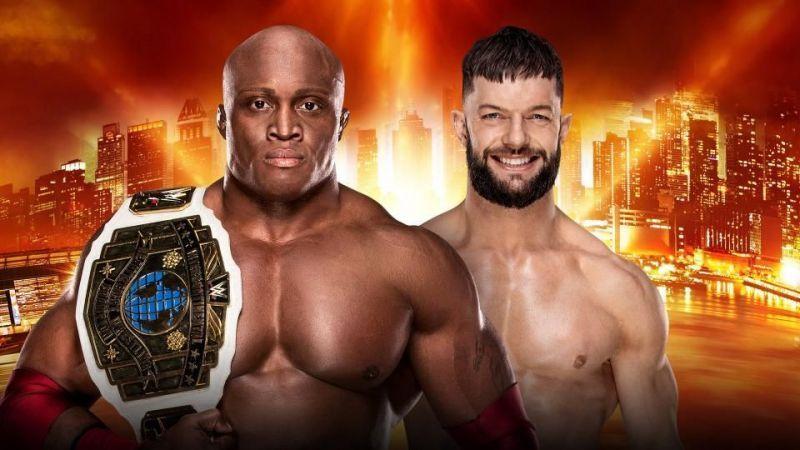 WrestleMania 35: WWE Intercontinental Championship: Bobby Lashley vs. Finn Balor