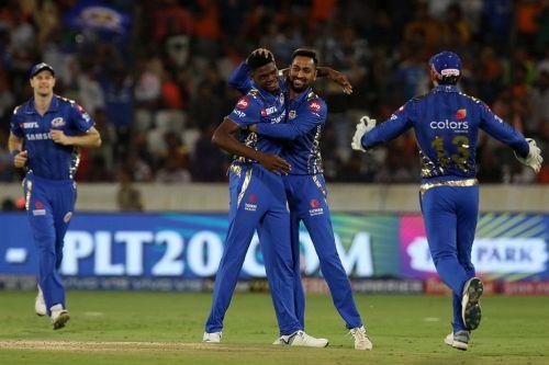 The Mumbai Indians. (Picture courtesy BCCI/iplt20.com)