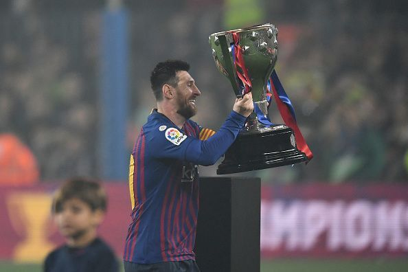 445da7cce06 Lionel Messi s title-winning goal sends Twitter into a tizzy