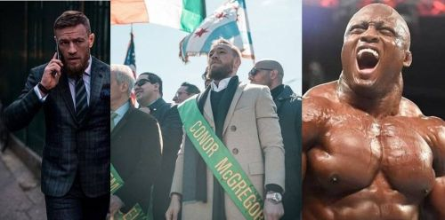 Conor McGregor (left) and Bobby Lashley (right) are regarded as elite performers in the UFC and WWE respectively