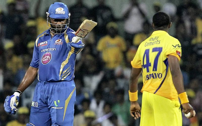 Pollard Vs CSK always a Great Battle to See.