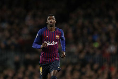 Dembele is amongst the travelling squad but is not medically cleared for the match