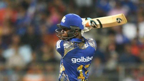 लुईस को 2018 आईपीएल नीलामी में मुंबई इंडियन्स ने खरीदा था
