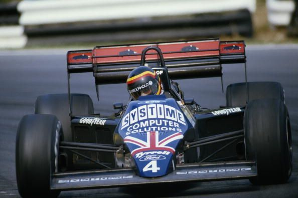 Stefan Bellof only had one full season of F1 racing, but left a very good impression