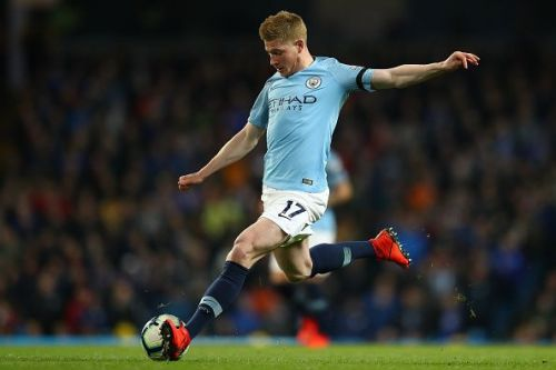 Manchester City lacked a spark in midfield without de Bruyne