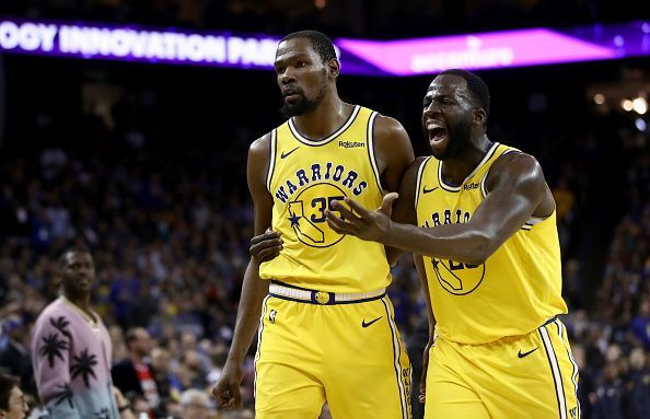 Both Kevin Durant and Draymond Green could exit the Warriors this summer