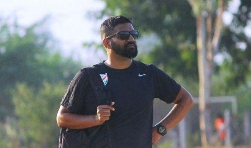 Alex Ambrose, coach of the Indian Junior Women's Team