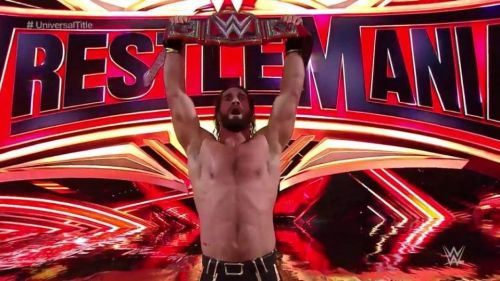 Seth Rollins defeated Brock Lesnar to become the new WWE Universal Champion