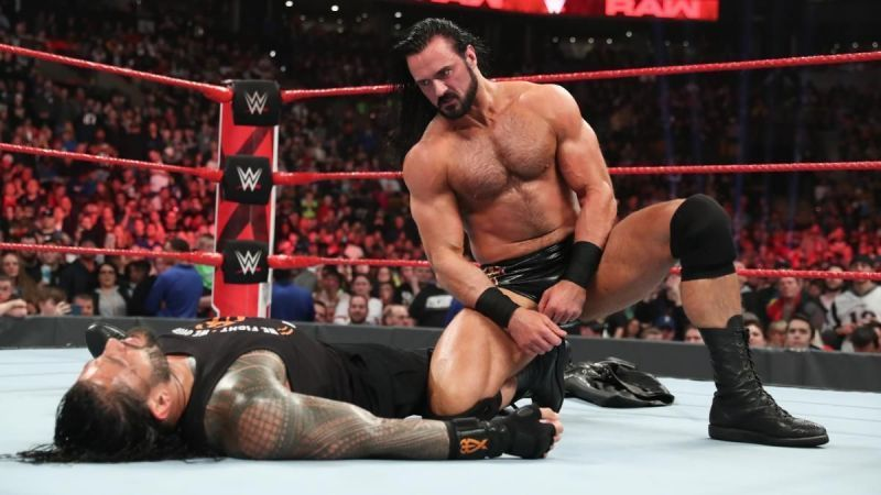 Drew Mcintyre faces the Big Dog at the grandest stage of them all