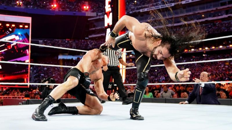 Rollins is gifted in the ring