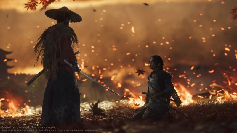 Ghost Of Tsushima (Captured On PS4 Pro)