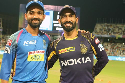 KKR and RR will face off against each other on Sunday (Picture Courtesy-BCCI./iplt20.com)