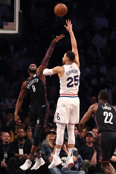 Philadelphia 76ers v Brooklyn Nets - Game Three