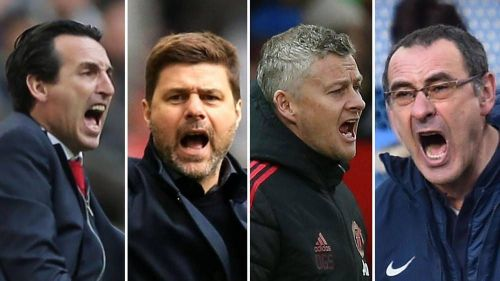 Arsenal, Tottenham, Manchester United and Chelsea are fighting for the two remaining Champions League spot.
