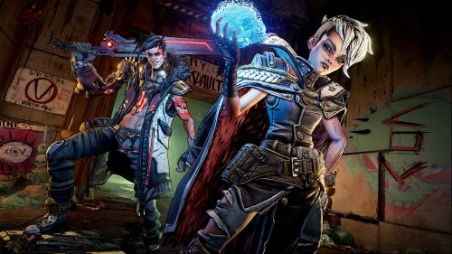 Borderlands 3 Image Featuring Main Antagonists Tyreen and Troy
