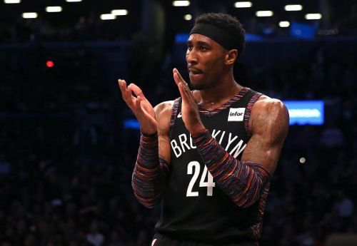 Rondae Hollis-Jefferson came off the bench to score 14 points in 15 minutes