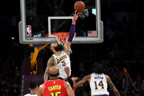 The highlight of Tyson Chandler's stint in his hometown came with a game-saving block against Trae Young in November.