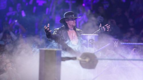 The Undertaker is back!