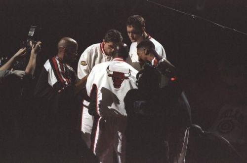 Bulls Starters late 1990's