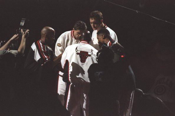Bulls Starters late 1990