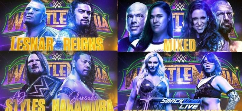 WrestleMania 34 was a roller coaster ride full of ups and downs