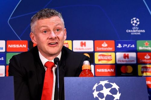 Solskjaer exuded confidence ahead of the game