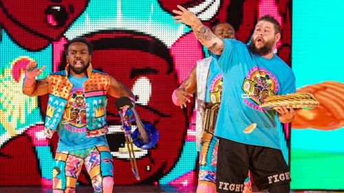 Owens with the New Day