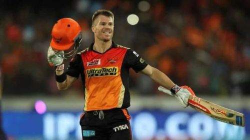 Warner is the leading run-scorer in the IPL this season.
