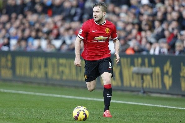 Luke Shaw will not be a part of the game against Barcelona next week