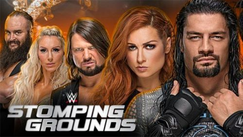 WWE stomping ground ppv