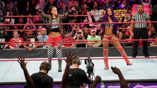 Sasha and Bayley have separated, thanks to the Superstar Shakeup