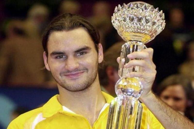 Federer winning Vienna open-2002