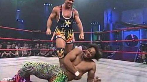 Angle's favorite TNA match