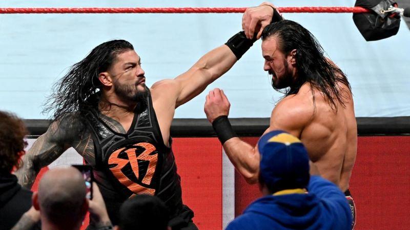 Roman Reigns had a clean win against Drew McIntyre at WrestleMania 35