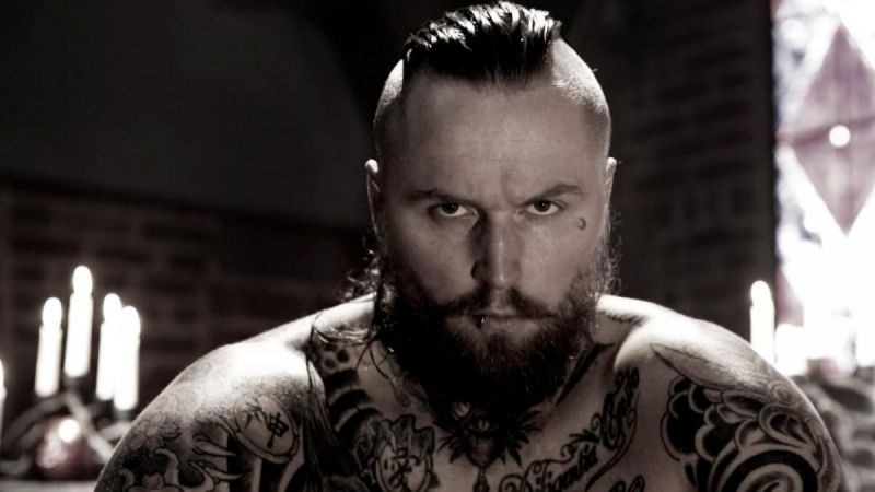 Aleister Black was originally listed as a Raw Superstar